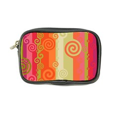 Ring Kringel Background Abstract Red Coin Purse