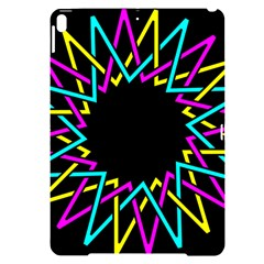 Sun Abstract Mandala Plaid Apple Ipad Pro 10 5   Black Frosting Case by AnjaniArt