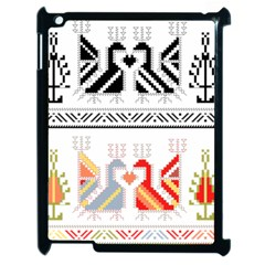 Bulgarian Folk Art Folk Art Apple Ipad 2 Case (black) by Pakrebo