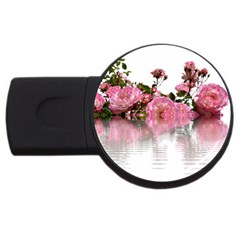 Roses Flowers Nature Flower Usb Flash Drive Round (4 Gb)