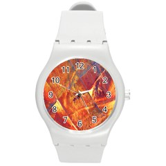 Altered Concept Round Plastic Sport Watch (m) by WILLBIRDWELL