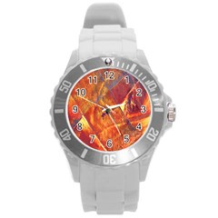 Altered Concept Round Plastic Sport Watch (l) by WILLBIRDWELL