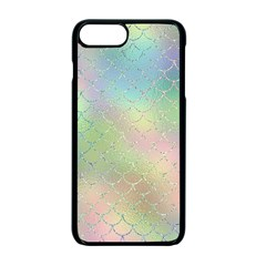 Pastel Mermaid Sparkles Iphone 7 Plus Seamless Case (black) by retrotoomoderndesigns