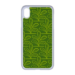 Oak Tree Nature Ongoing Pattern Iphone Xr Seamless Case (white)