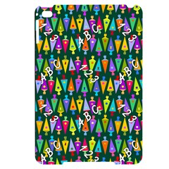 Pattern Back To School Schultuete Apple Ipad Mini 4 Black Frosting Case