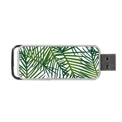 Fancy Tropical Pattern Portable Usb Flash (two Sides) by tarastyle