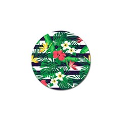 Fancy Tropical Pattern Golf Ball Marker (4 Pack) by tarastyle