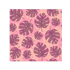 Fancy Tropical Pattern Small Satin Scarf (square) by tarastyle