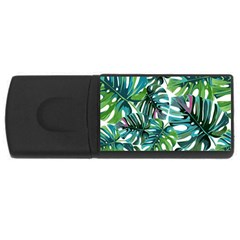 Fancy Tropical Pattern Rectangular Usb Flash Drive by tarastyle