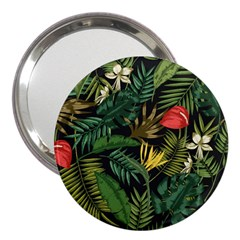 Fancy Tropical Pattern 3  Handbag Mirrors by tarastyle