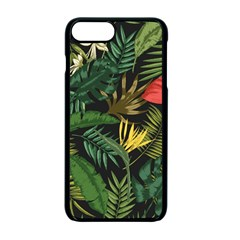 Fancy Tropical Pattern Iphone 7 Plus Seamless Case (black) by tarastyle