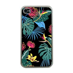 Fancy Tropical Pattern Iphone 4 Case (clear) by tarastyle