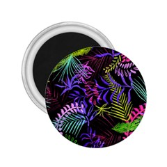 Fancy Tropical Pattern 2 25  Magnets by tarastyle