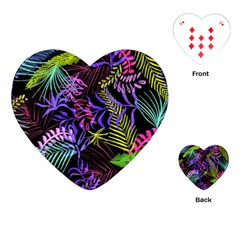 Fancy Tropical Pattern Playing Cards (heart) by tarastyle
