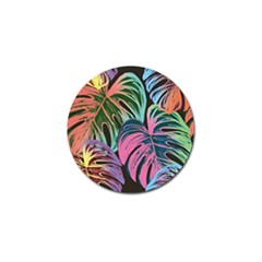 Fancy Tropical Pattern Golf Ball Marker (10 Pack) by tarastyle