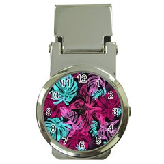 Fancy Tropical Pattern Money Clip Watches by tarastyle
