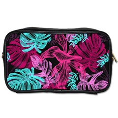 Fancy Tropical Pattern Toiletries Bag (two Sides) by tarastyle