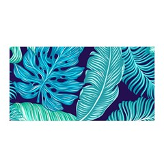 Fancy Tropical Pattern Satin Wrap by tarastyle