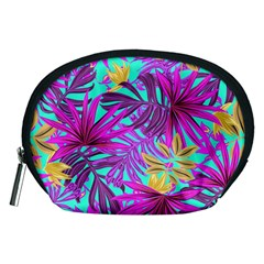Fancy Tropical Pattern Accessory Pouch (medium) by tarastyle