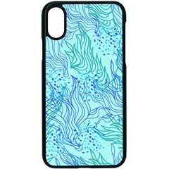 Cute Abstract Pattern  Iphone Xs Seamless Case (black)