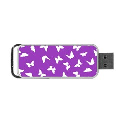 Butterfly Pattern Portable Usb Flash (one Side) by tarastyle