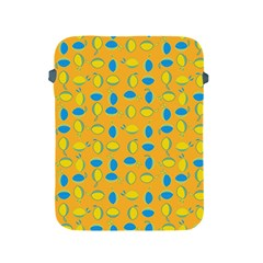 Lemons Ongoing Pattern Texture Apple Ipad 2/3/4 Protective Soft Cases
