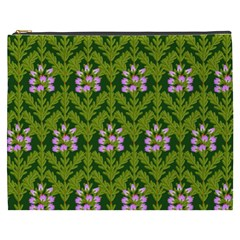 Pattern Nature Texture Heather Cosmetic Bag (xxxl)