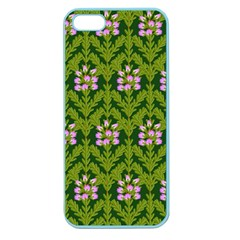 Pattern Nature Texture Heather Apple Seamless Iphone 5 Case (color)