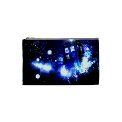 Tardis Background Space Cosmetic Bag (small)