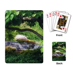 Chicago Garden Of The Phoenix Playing Cards Single Design by Riverwoman