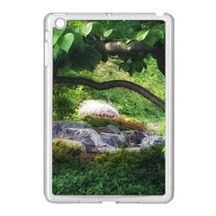 Chicago Garden Of The Phoenix Apple Ipad Mini Case (white) by Riverwoman