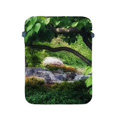 Chicago Garden Of The Phoenix Apple Ipad 2/3/4 Protective Soft Cases by Riverwoman
