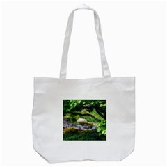 Chicago Garden Of The Phoenix Tote Bag (white) by Riverwoman