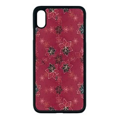 Modern Floral Collage Print Pattern Modern Floral Collage Print Pattern Iphone Xs Max Seamless Case (black) by dflcprintsclothing
