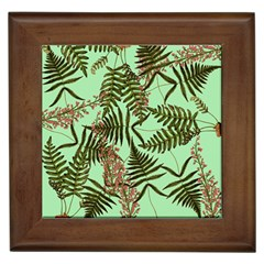 Fern Green Framed Tiles