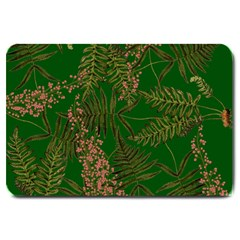 Fern Dark Green Large Doormat