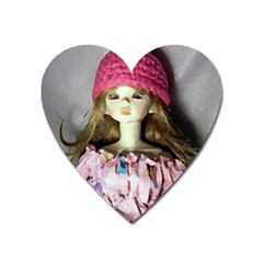 Cute In Pink Heart Magnet