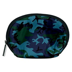 Camouflage Blue Accessory Pouch (medium)