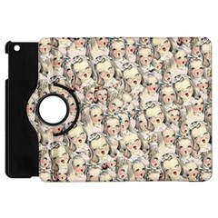 Vintage Singing Heads Apple Ipad Mini Flip 360 Case by snowwhitegirl