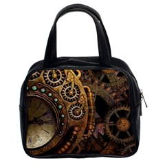 Steampunk Clock Classic Handbag (two Sides)