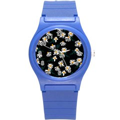 Fancy Floral Pattern Round Plastic Sport Watch (s) by tarastyle
