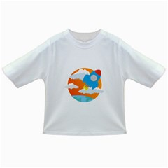 Rocket Rocket Ship Rocket Fire Infant/toddler T Shirts