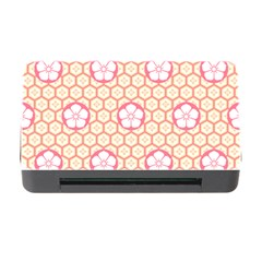 Floral Design Seamless Wallpaper Memory Card Reader With Cf by Pakrebo