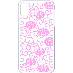 Peony Asia Spring Flowers Natural Iphone X Seamless Case (white)