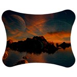 Horizon Sunset Evening Sunrise Jigsaw Puzzle Photo Stand (Bow) Front