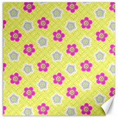 Traditional Patterns Plum Canvas 12  X 12  by Pakrebo