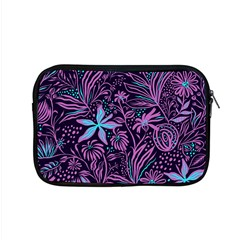 Stamping Pattern Leaves Drawing Apple Macbook Pro 15  Zipper Case by Pakrebo