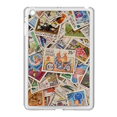 Wallpaper Background Stamps Apple Ipad Mini Case (white)