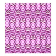 Paulownia Flowers Japanese Style Shower Curtain 66  X 72  (large)