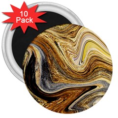 Abstract Acrylic Art Artwork 3  Magnets (10 Pack)